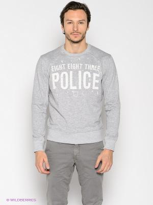 Джемпер 883 Police. Цвет: серый меланж