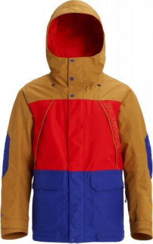 Куртка утепленная мужская Gore Breach, размер 46-48 Burton. Цвет: бежевый