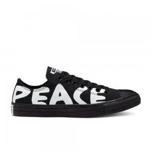 Chuck Taylor All Star Peace Low Top Converse. Цвет: чёрный