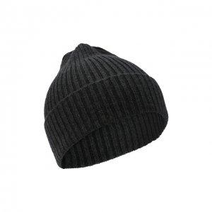 Кашемировая шапка Cortigiani. Цвет: серый
