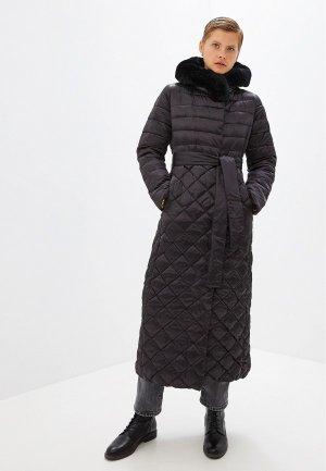 Куртка утепленная Conso Wear. Цвет: черный