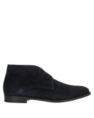Полусапоги и высокие ботинки CASTORI. Цвет: темно-синий