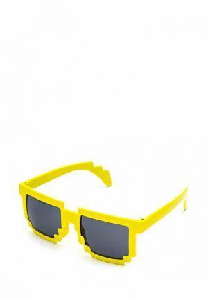 Очки солнцезащитные Maskbro. Цвет: желтый