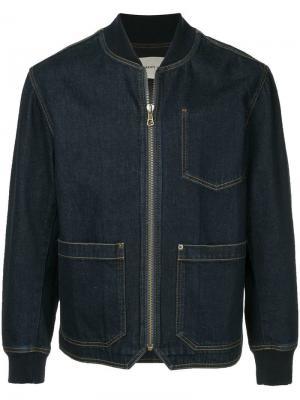 Denim jacket Cerruti 1881. Цвет: синий