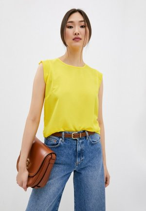 Блуза French Connection. Цвет: желтый