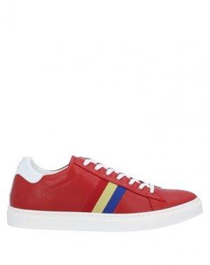 Кеды и кроссовки CASTELBAJAC. Цвет: красный