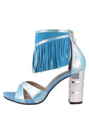 Босоножки EL Dantes. Цвет: light blue
