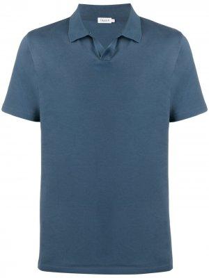 Однотонная рубашка поло Filippa K. Цвет: синий
