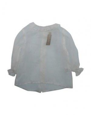 Pубашка LA STUPENDERIA. Цвет: белый