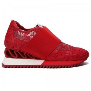 Кроссовки Le Silla. Цвет: красный