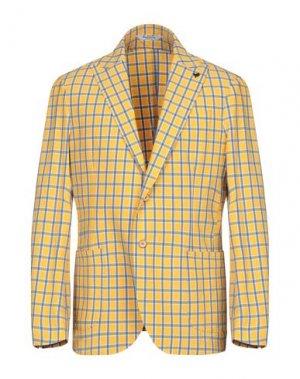 Пиджак BOTTEGA MARTINESE. Цвет: желтый