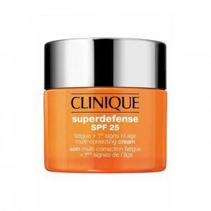Корректирующий крем для сухой и комбинированной кожи Superdefense SPF 25 Clinique. Цвет: бесцветный
