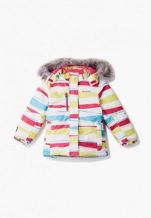 Куртка горнолыжная Kuoma. Цвет: разноцветный