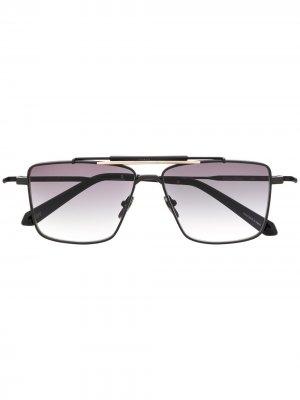Солнцезащитные очки Shave в квадратной оправе EQUE.M. Цвет: черный