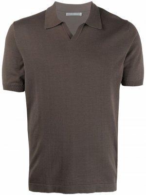 Рубашка поло с короткими рукавами Grey Daniele Alessandrini. Цвет: зеленый