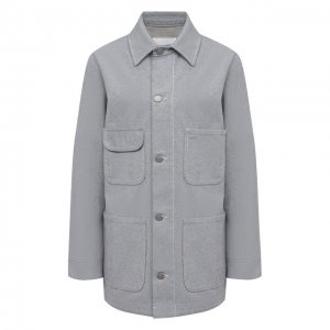 Джинсовая куртка Maison Margiela. Цвет: синий