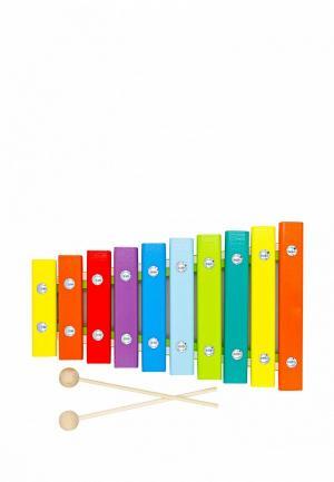 Игрушка Alatoys Ксилофон. Цвет: разноцветный