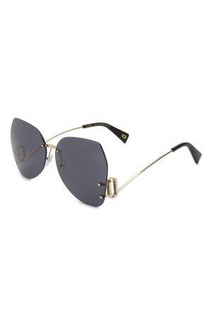 Солнцезащитные очки MARC JACOBS (THE). Цвет: серый