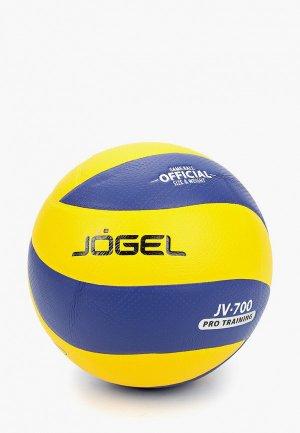 Мяч волейбольный Jogel. Цвет: желтый