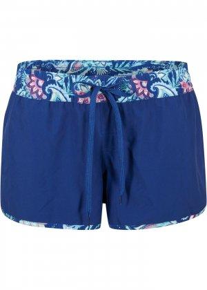 Шорты пляжные bonprix. Цвет: синий