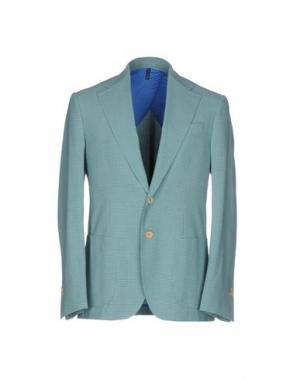 Пиджак DOMENICO TAGLIENTE. Цвет: зеленый