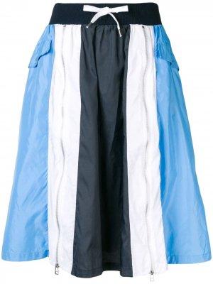 Colour Blocked Sports Skirt Each X Other. Цвет: синий