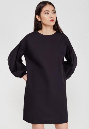 Платье Befree BE031EWADOP2. Цвет: черный