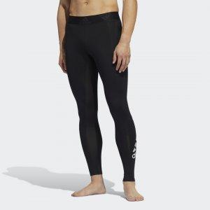 Леггинсы для фитнеса Alphaskin 2.0 Sport Performance adidas. Цвет: черный