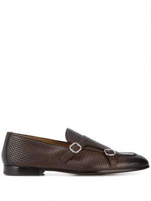 Doucals плетеные туфли монки Doucal's. Цвет: коричневый