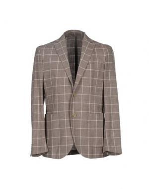 Пиджак BRIAN HAMILTON. Цвет: голубиный серый