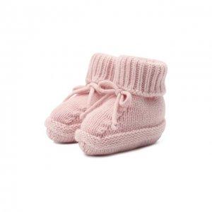 Кашемировые носки Baby T. Цвет: розовый