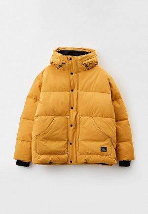Куртка утепленная Ostin O'stin MJ6Z75. Цвет: желтый