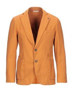 Пиджак EXIGO. Цвет: абрикосовый