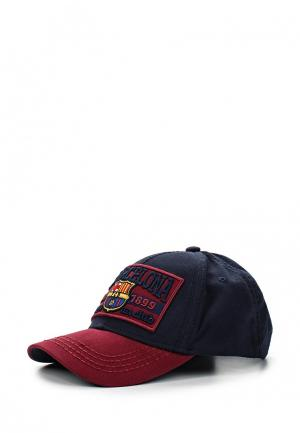 Бейсболка Atributika & Club™ FC Barcelona. Цвет: синий