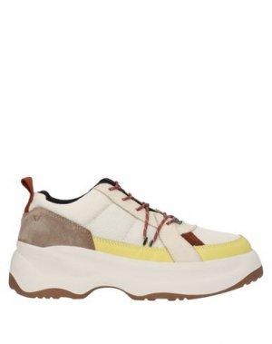 Кеды и кроссовки VAGABOND SHOEMAKERS. Цвет: бежевый