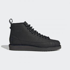 Ботинки Superstar Originals adidas. Цвет: черный