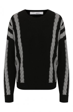 Пуловер из смеси шерсти и кашемира Iro. Цвет: черный