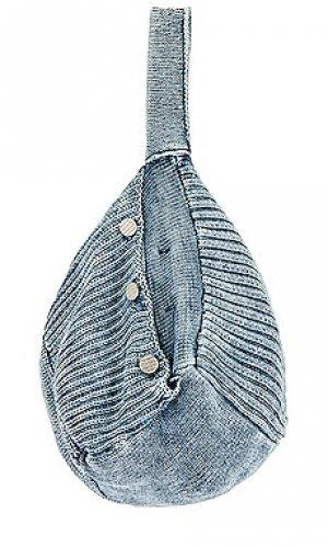Сумка cube Knorts Denim Knitwear. Цвет: синий