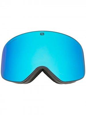 Лыжная маска Skermo с логотипом Rudy Project. Цвет: синий