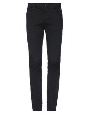 Повседневные брюки CAVALLI CLASS. Цвет: черный