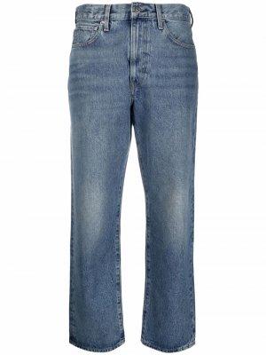 Levis укороченные джинсы Levi's. Цвет: синий