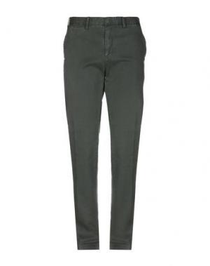 Повседневные брюки ERIC HATTON. Цвет: зеленый-милитари